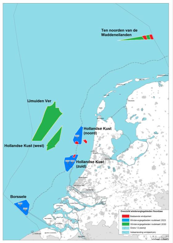 routekaart wind op zee 2030