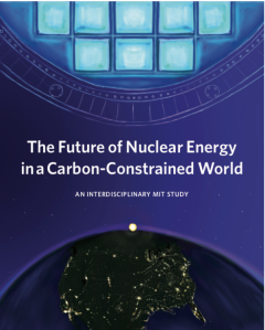 MIT rapport nuclear in carbon constrained world