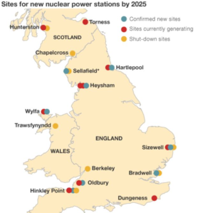 Uk nuclear sites